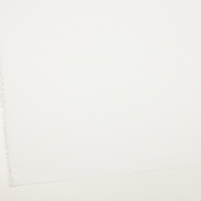 コットン&ポリエステル×チェック(サックス)×ジャガード_全2色 イメージ2