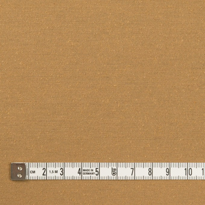 シルク&ポリエステル混×無地(カフェオレ)×シャンタン イメージ4