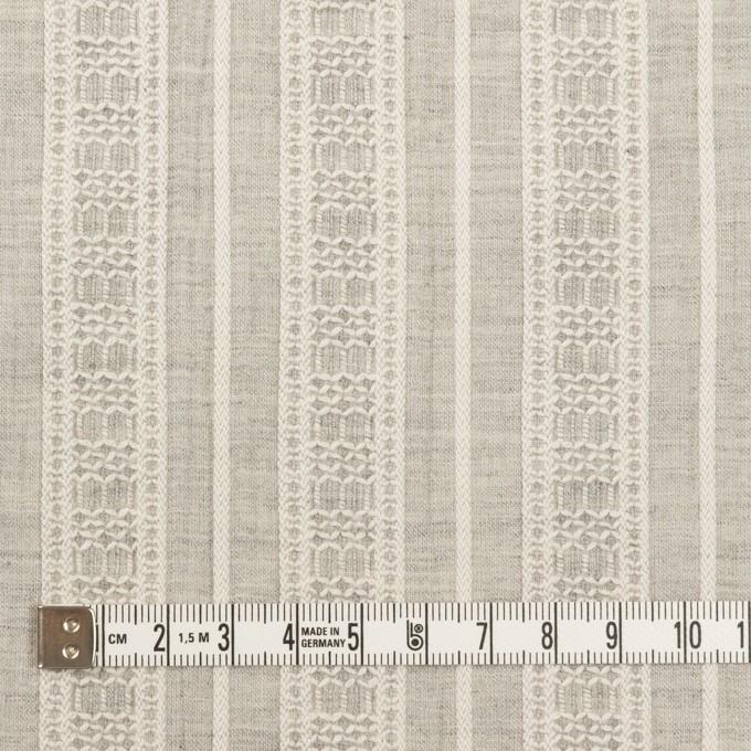 コットン×ストライプ(グレー)×ヨウリュウ・ジャガード_全3色 イメージ4