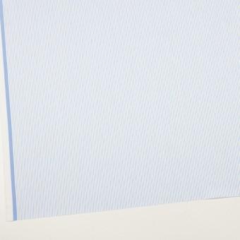 コットン×ストライプ(サックス)×サージ_全2色 サムネイル2