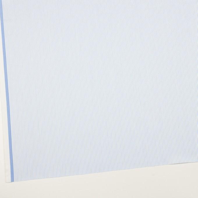 コットン×ストライプ(サックス)×サージ_全2色 イメージ2