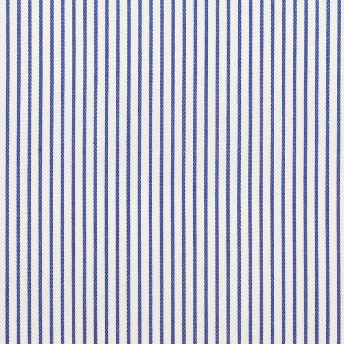 コットン×ストライプ(ブルー)×サージ_全2色 イメージ1