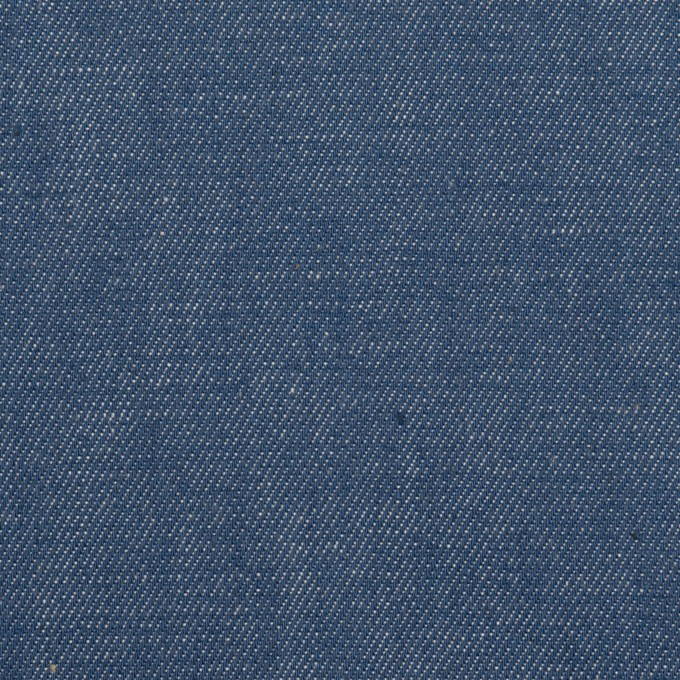 コットン×無地(インディゴブルー)×デニム(6oz) イメージ1