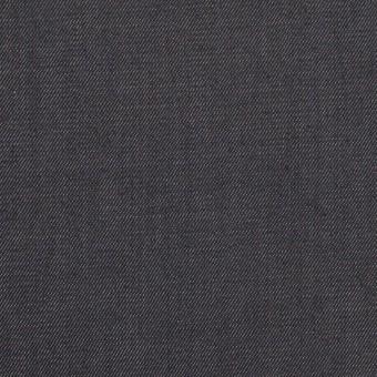コットン&ポリウレタン×無地(インディゴ)×サージストレッチ サムネイル1