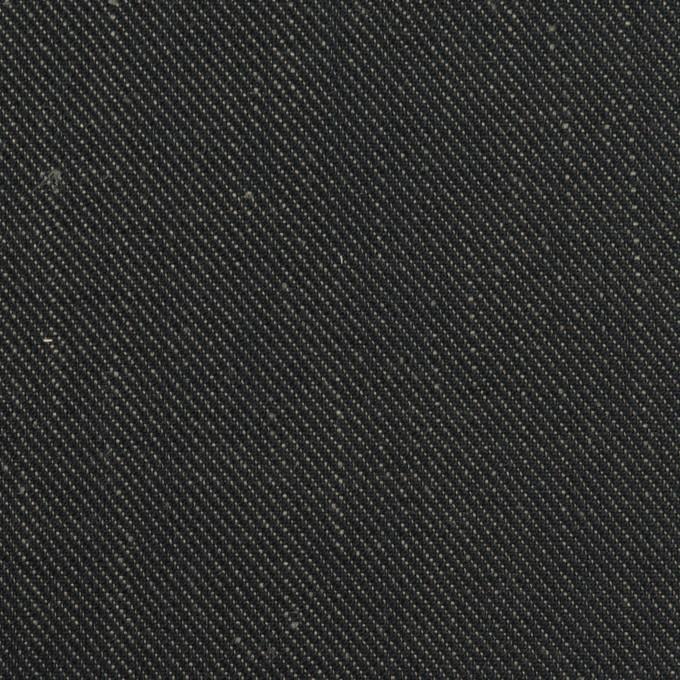 リネン×無地(インディゴ)×デニム(6oz) イメージ1