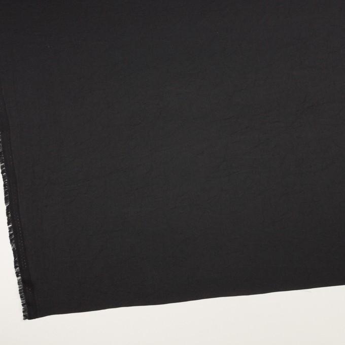 ポリエステル×無地(ブラック)×サテンワッシャー_全3色 イメージ2
