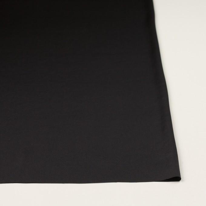 ポリエステル×無地(ブラック)×サテンワッシャー_全3色 イメージ3