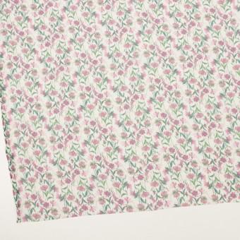シルク×フラワー(ピンク)×クレープジョーゼット_全2色 サムネイル2