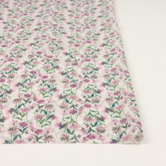 シルク×フラワー(ピンク)×クレープジョーゼット_全2色 サムネイル3