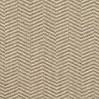 コットン&ポリエステル混×無地(カーキベージュ)×ヘリンボーン・ストレッチ_全3色 サムネイル1