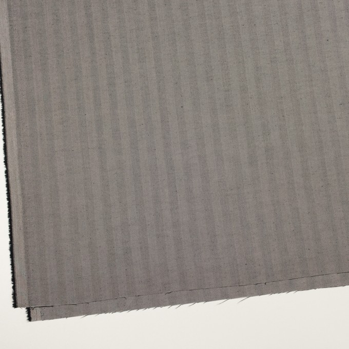 コットン&ポリエステル混×無地(チャコールグレー)×ヘリンボーン・ストレッチ_全3色 イメージ2