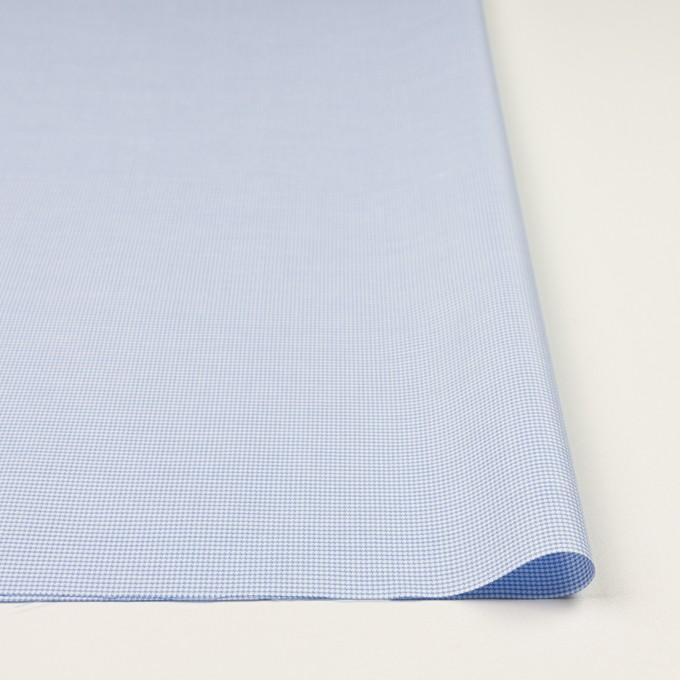 コットン×ミックス(ブルー)×斜子織 イメージ3