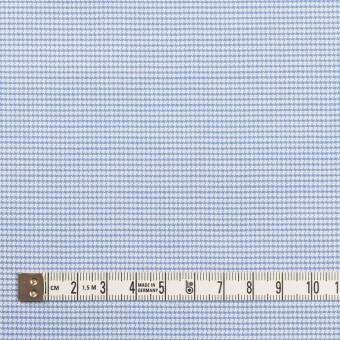 コットン×ミックス(ブルー)×斜子織 サムネイル4