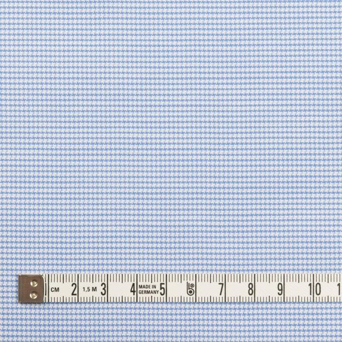 コットン×ミックス(ブルー)×斜子織 イメージ4
