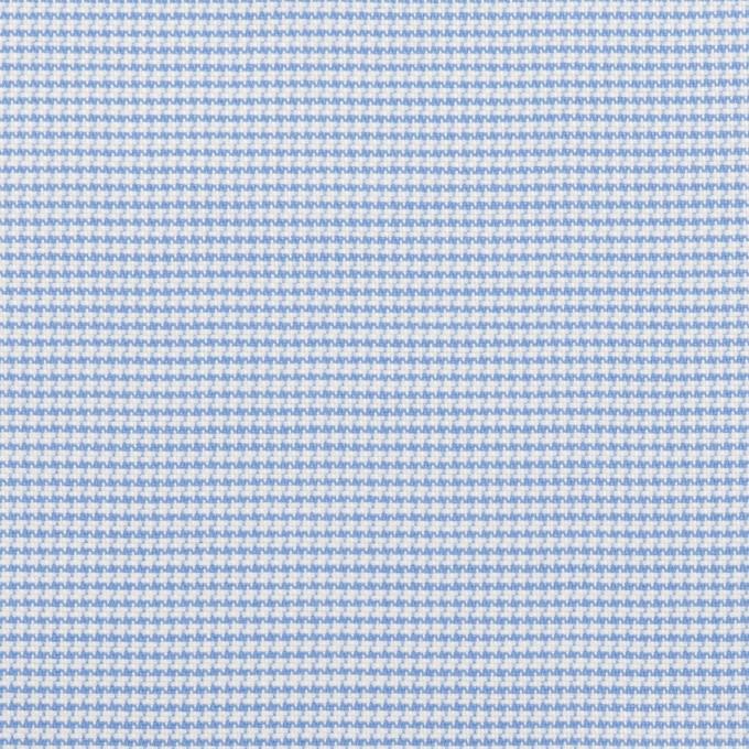コットン×ミックス(ブルー)×斜子織 イメージ1