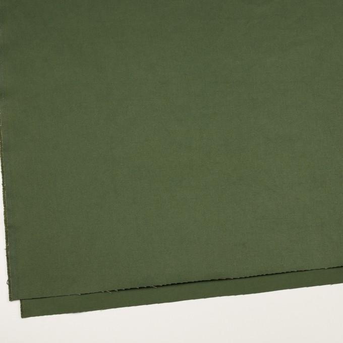コットン×無地(カーキグリーン)×チノクロス・ワッシャー_全3色 イメージ2
