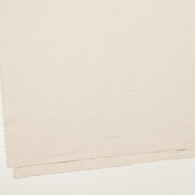 ポリエステル&レーヨン混×無地(バニラ)×ファンシーツイード_全2色 イメージ2