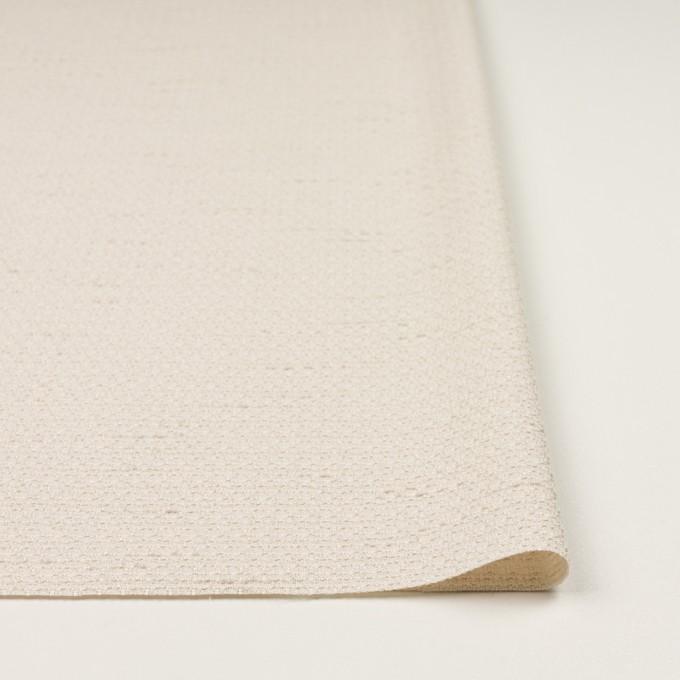 ポリエステル&レーヨン混×無地(バニラ)×ファンシーツイード_全2色 イメージ3
