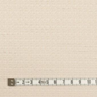 ポリエステル&レーヨン混×無地(バニラ)×ファンシーツイード_全2色 サムネイル4