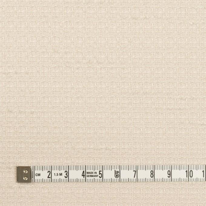 ポリエステル&レーヨン混×無地(バニラ)×ファンシーツイード_全2色 イメージ4