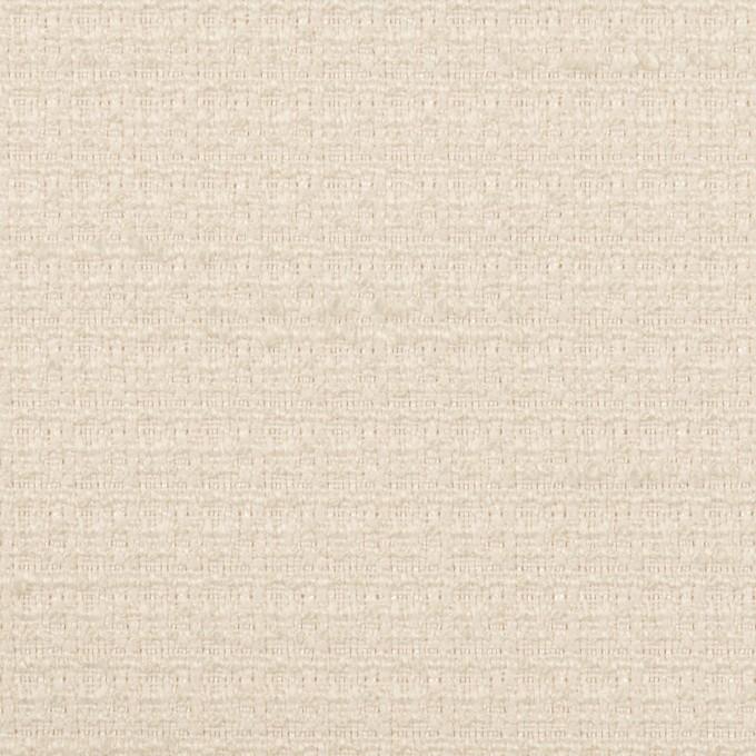 ポリエステル&レーヨン混×無地(バニラ)×ファンシーツイード_全2色 イメージ1