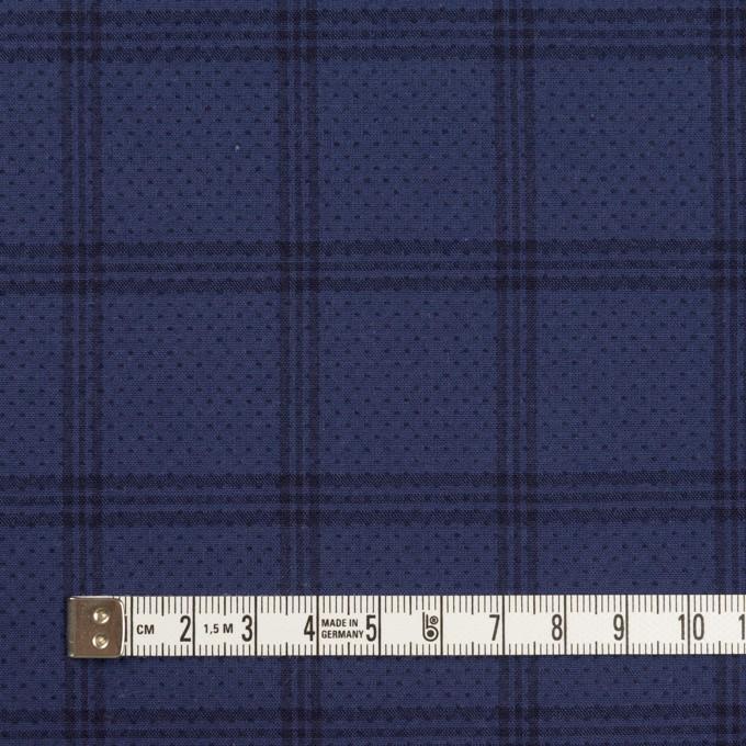コットン×チェック&ドット(ネイビー)×ブロードドビー イメージ4