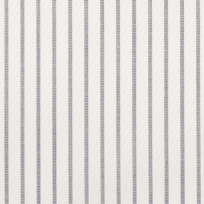 コットン×ストライプ(チャコール)×ジャガード_全2色 イメージ1