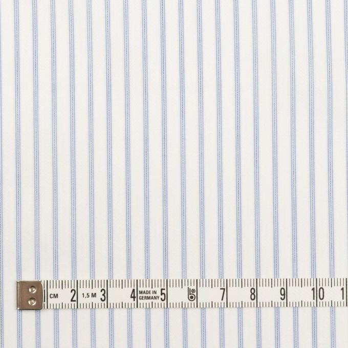 コットン×ストライプ(サックス)×ジャガード イメージ4