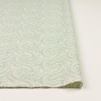 コットン×幾何学模様(シャーベットグリーン&エクリュ)×Wガーゼ刺繍_全4色 サムネイル3