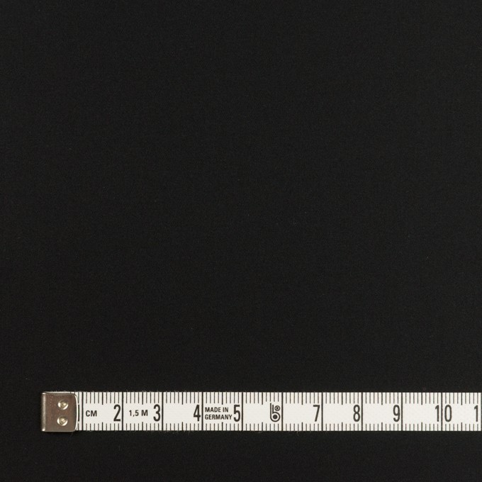 コットン×無地(ブラック)×サテン_全6色 イメージ4