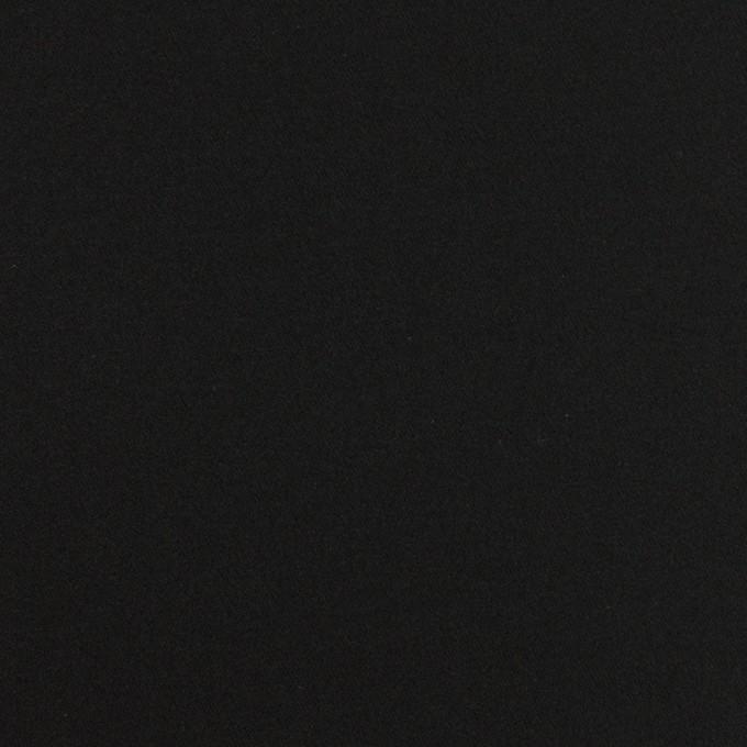 コットン×無地(ブラック)×サテン_全6色 イメージ1