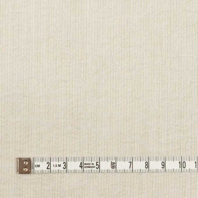 ポリエステル×フラワー(カーキベージュ)×ジャガード イメージ4