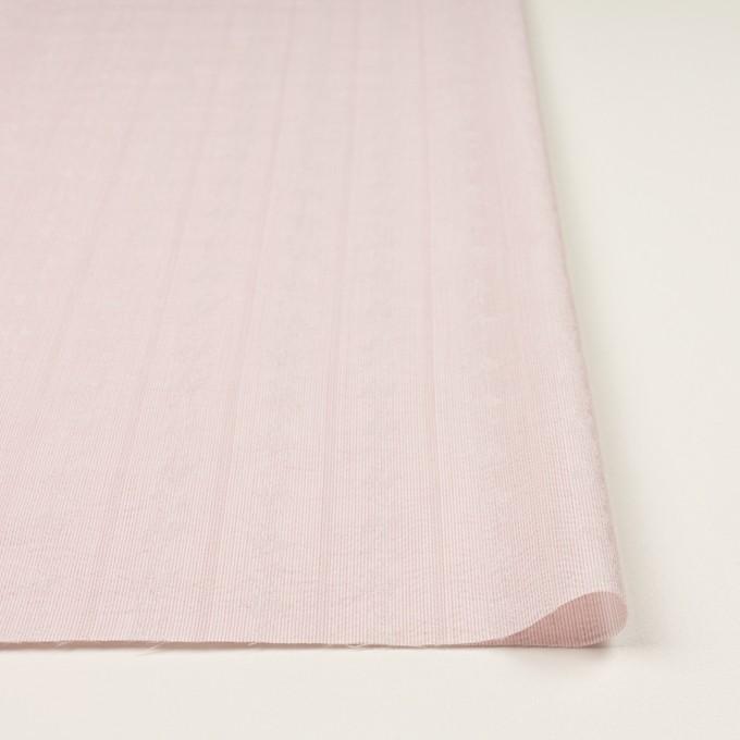 ポリエステル×ストライプ(ピンク)×ジャガード_全3色 イメージ3