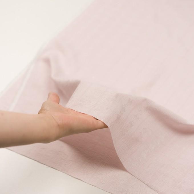 ポリエステル×ストライプ(ピンク)×ジャガード_全3色 イメージ5
