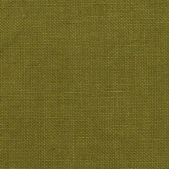 リネン×無地(カーキグリーン)×厚オックスフォード_全6色