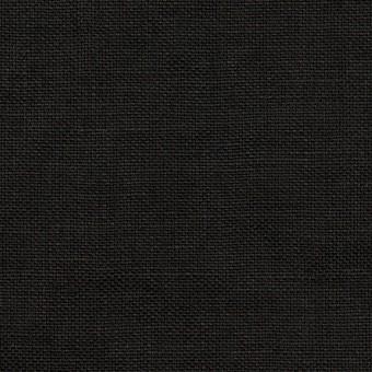 リネン×無地(ブラック)×厚オックスフォード_全6色