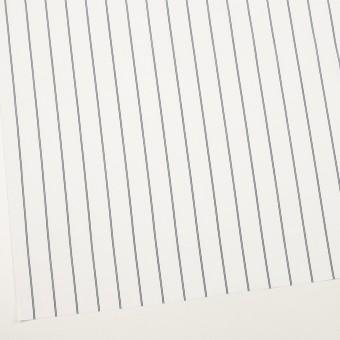 コットン&ポリエステル×ストライプ(ホワイト&ネイビー)×ブロード サムネイル2