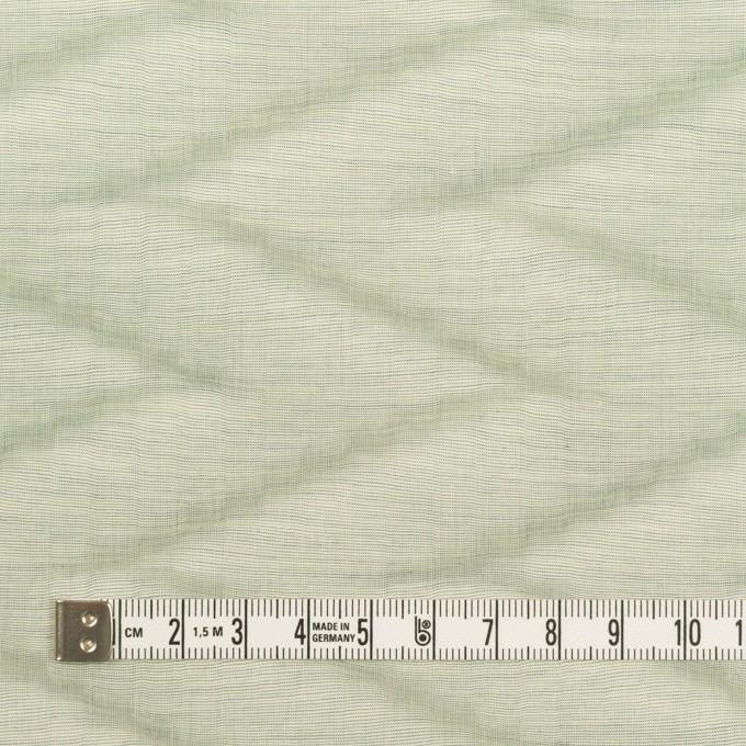 コットン×ウェーブ(ティーグリーン)×ローン イメージ4