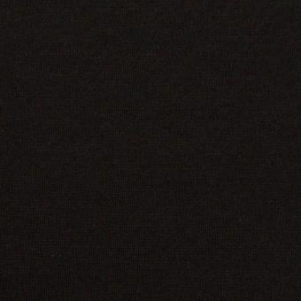 リヨセル&ナイロン混×無地(ブラック)×Wニット