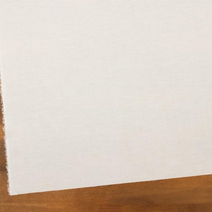コットン&ポリウレタン×無地(ホワイト)×ローンストレッチ_全4色 イメージ2