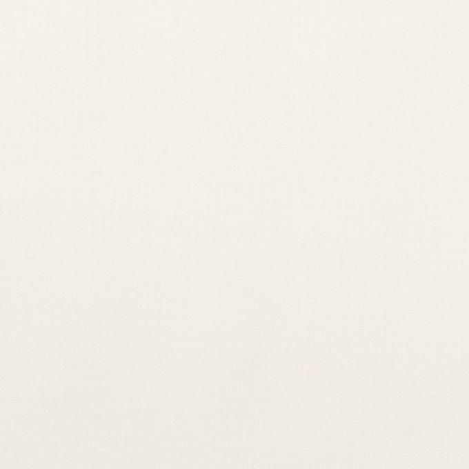 コットン&ポリウレタン×無地(ホワイト)×ローンストレッチ_全4色 イメージ1