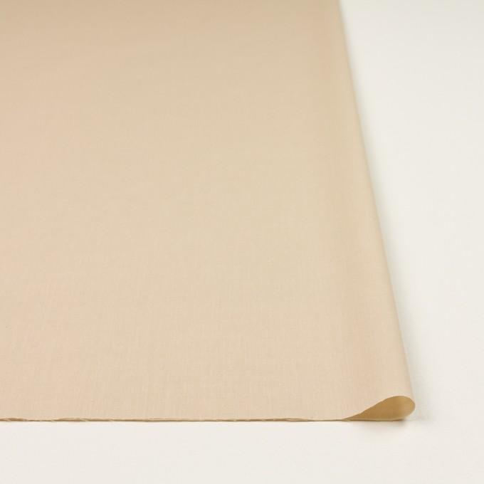 コットン&ポリウレタン×無地(ライトベージュ)×ローンストレッチ_全4色 イメージ3