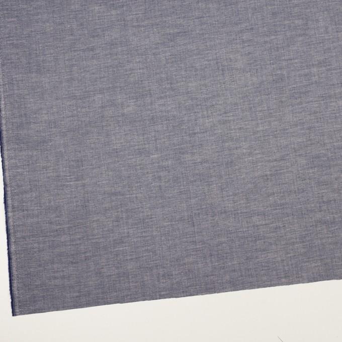 コットン&ポリウレタン×無地(アッシュネイビー)×ローンストレッチ_全4色 イメージ2