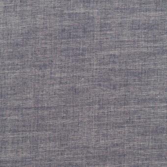 コットン&ポリウレタン×無地(アッシュネイビー)×ローンストレッチ_全4色 サムネイル1
