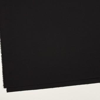 ウール×無地(ブラック)×ポプリン サムネイル2