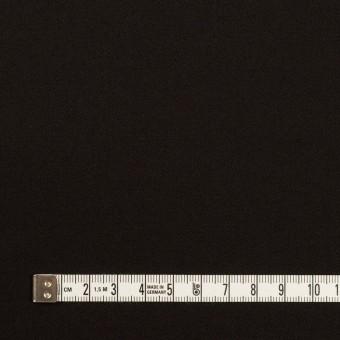 ウール&キュプラ混×無地(ブラック)×サージストレッチ_イタリア製 サムネイル4