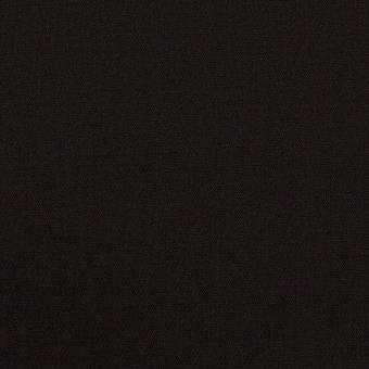 ウール&キュプラ混×無地(ブラック)×サージストレッチ_イタリア製 サムネイル1