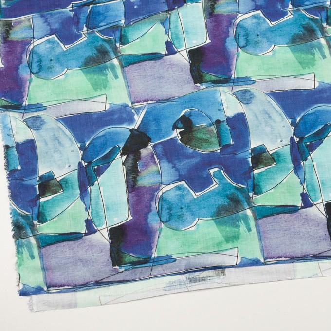 リネン×ペイント(マリン)×薄キャンバス_全3色 イメージ2