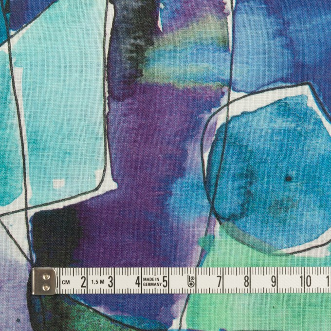 リネン×ペイント(マリン)×薄キャンバス_全3色 イメージ4