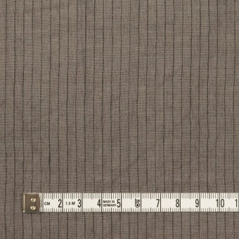 リネン×ストライプ(アッシュグレー)×薄キャンバス・ワッシャー サムネイル4